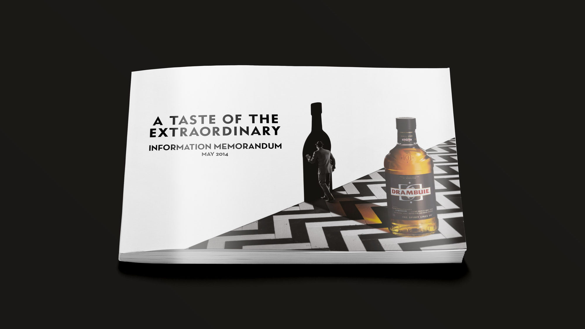 Drambuie brochure cover