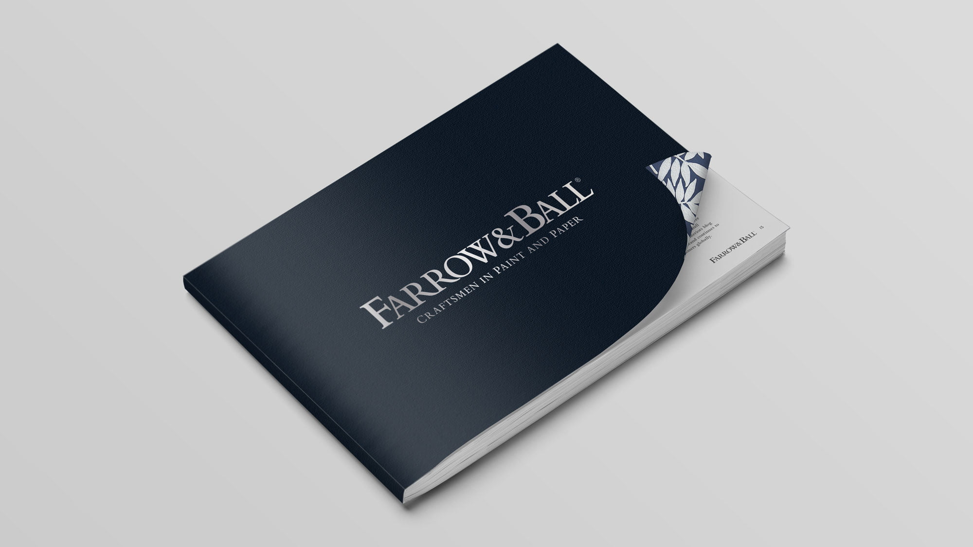 Farrow & Ball brochure cover