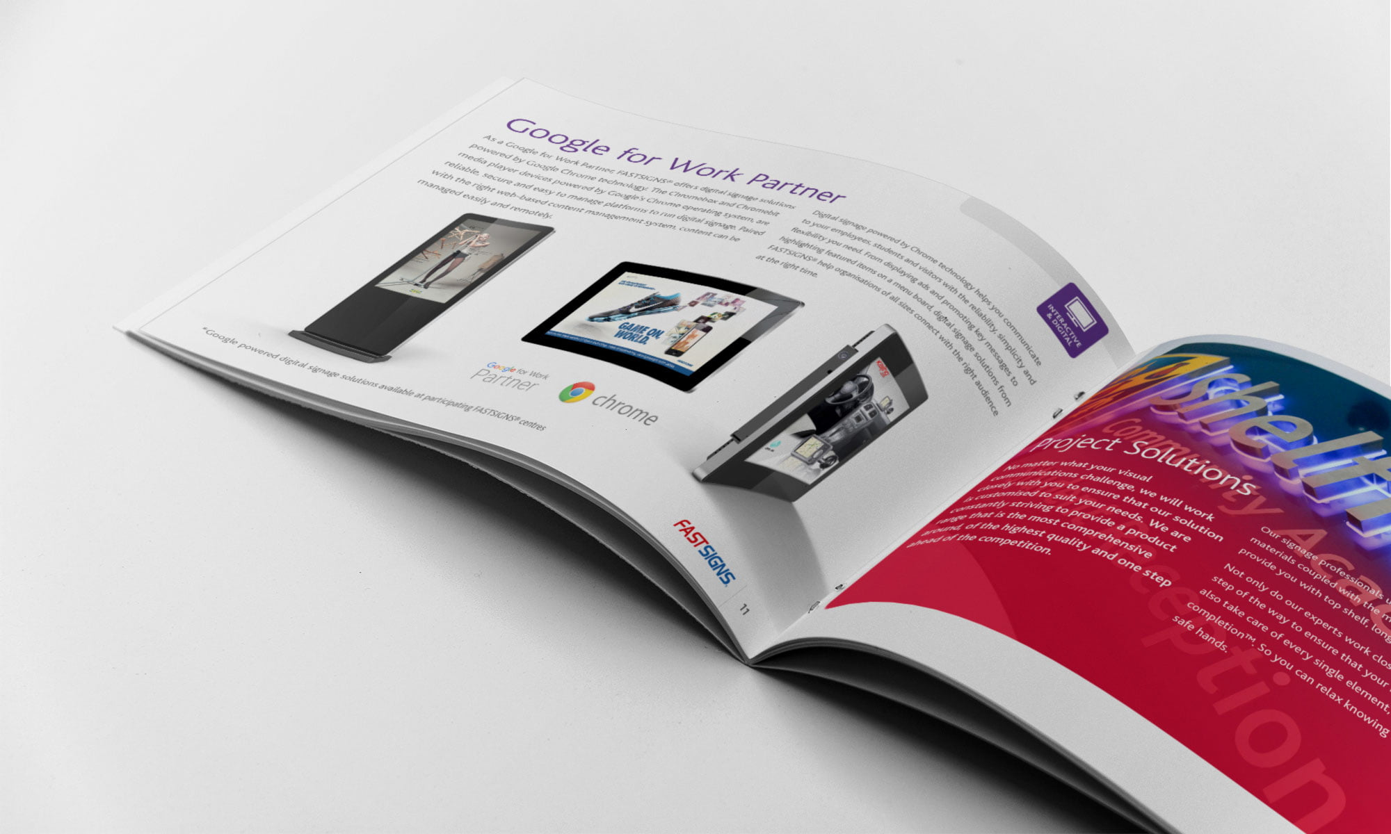 FastSigns brochure spread