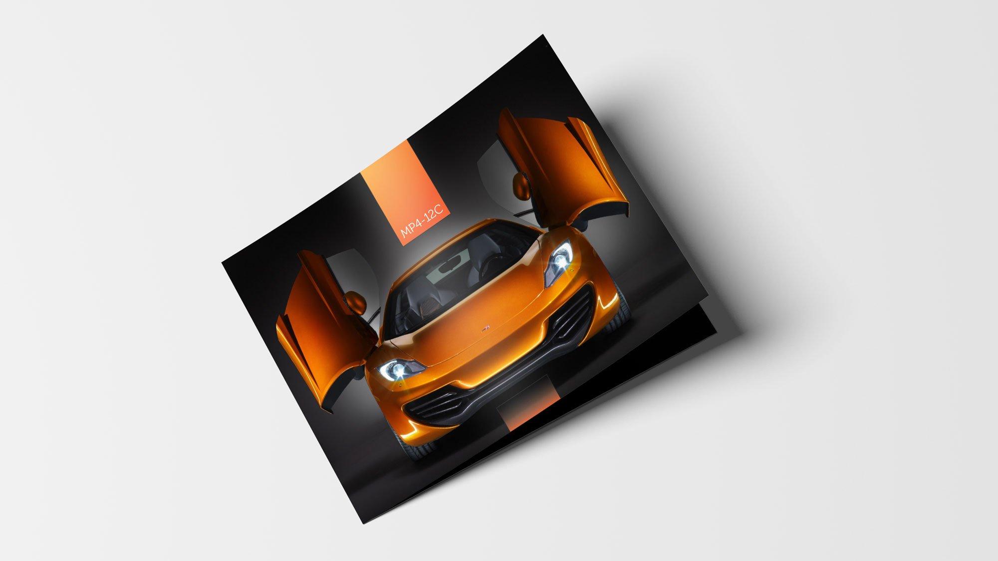 McLaren brochure cover