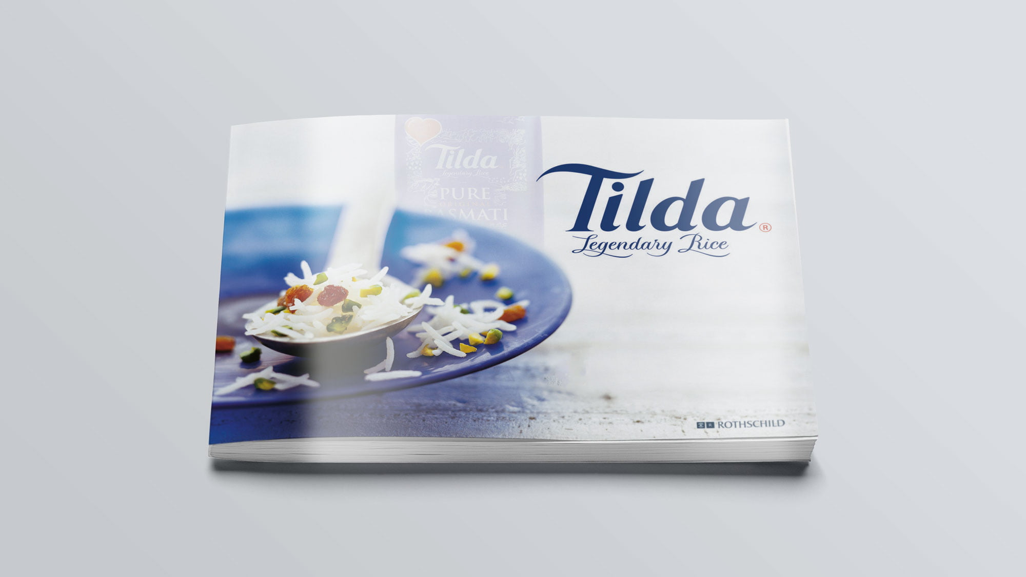 Tilda Rice brochure cover