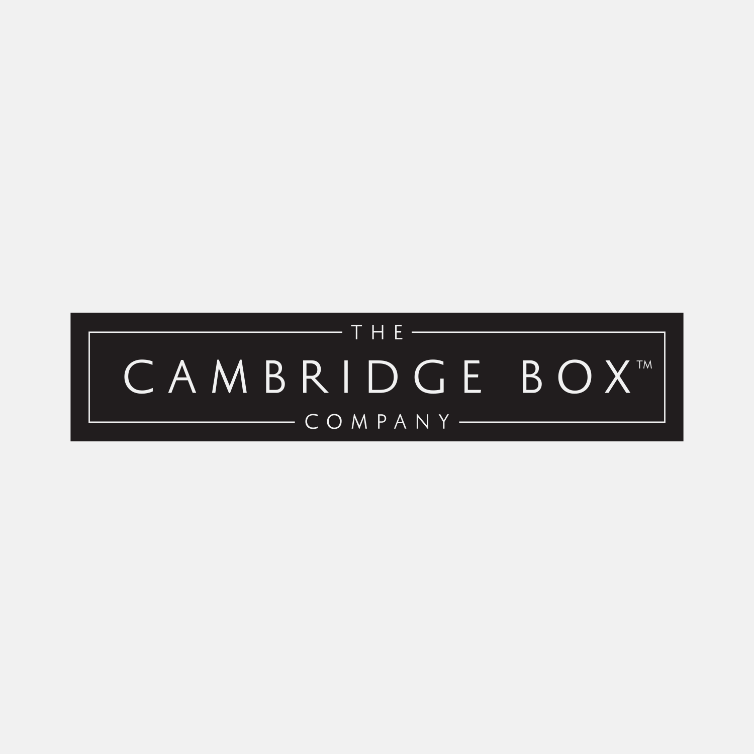 Cambridge Box Company logo design