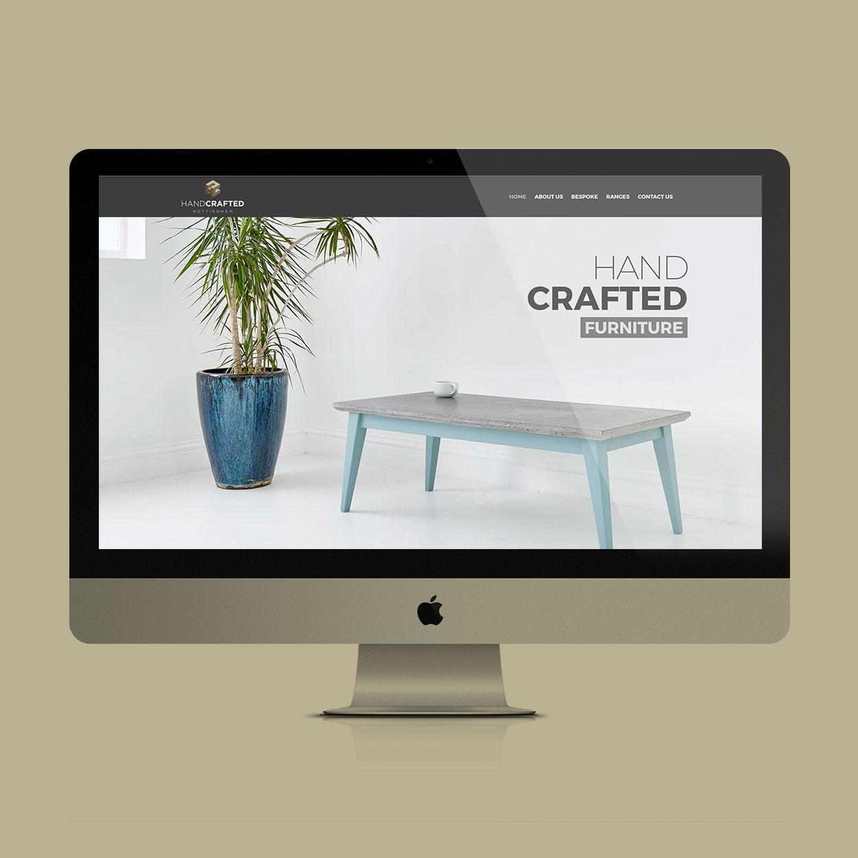 HandCrafted Nottingham website design