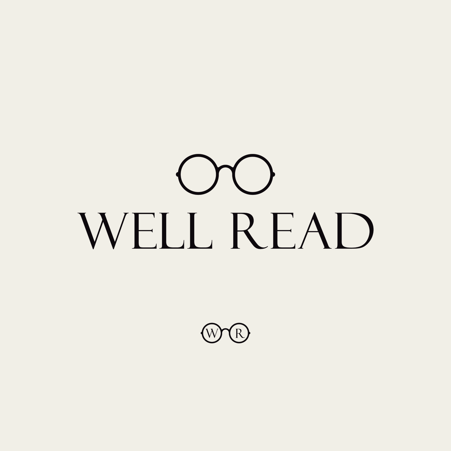 Well Read logo design