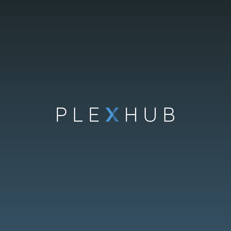 PlexHub logo design